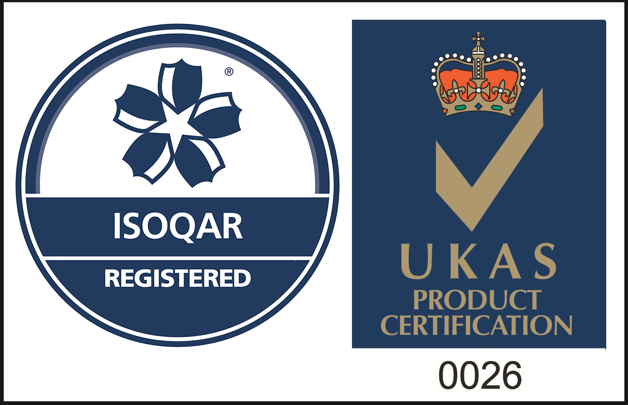 ISOQAR Registered - UKAS Product Certification