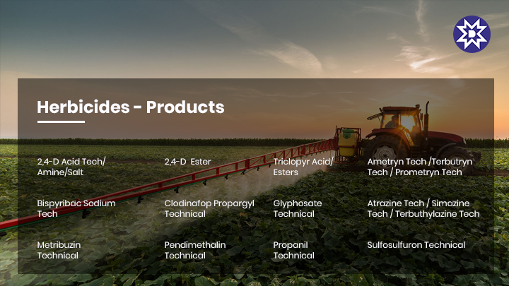 Herbicides - Crop Protection Chemicals